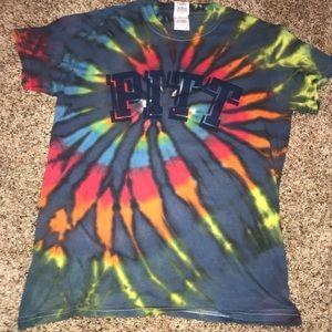 Tops - Pitt tie dye t-shirt
